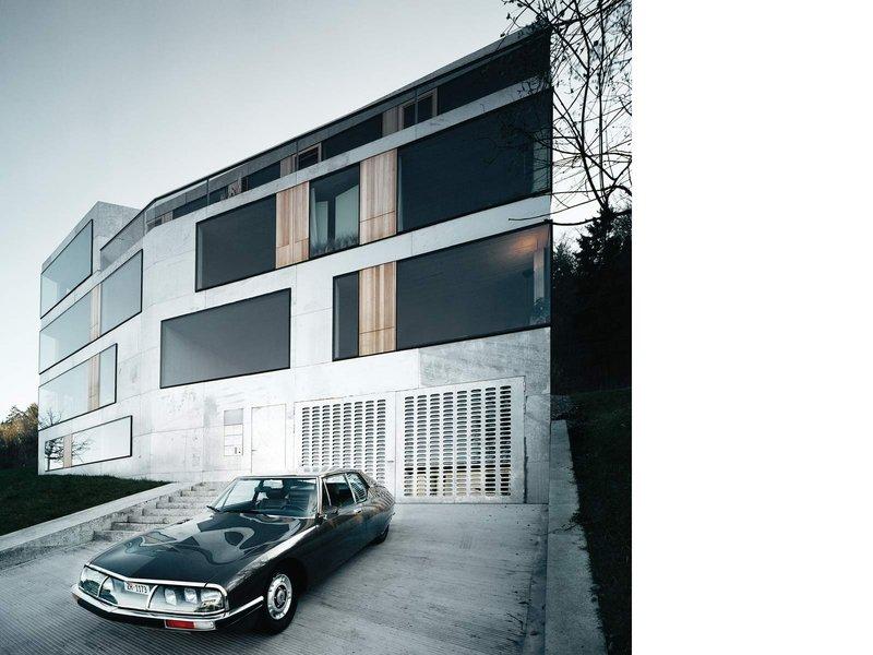 Fuhrimann Hächler: Architekten- und Künstlerhaus am Fusse des Üetlibergs - best architects 07