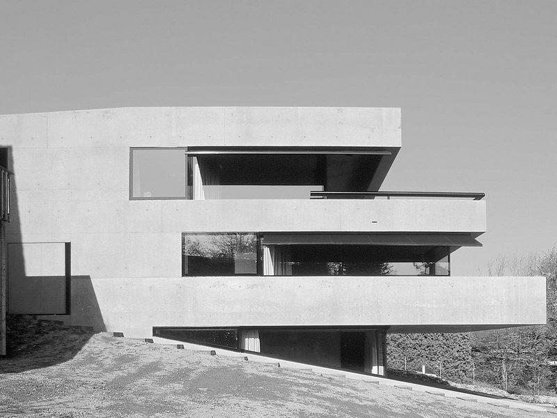 Daniele Marques: Einfamilienhaus in Meggen - best architects 07