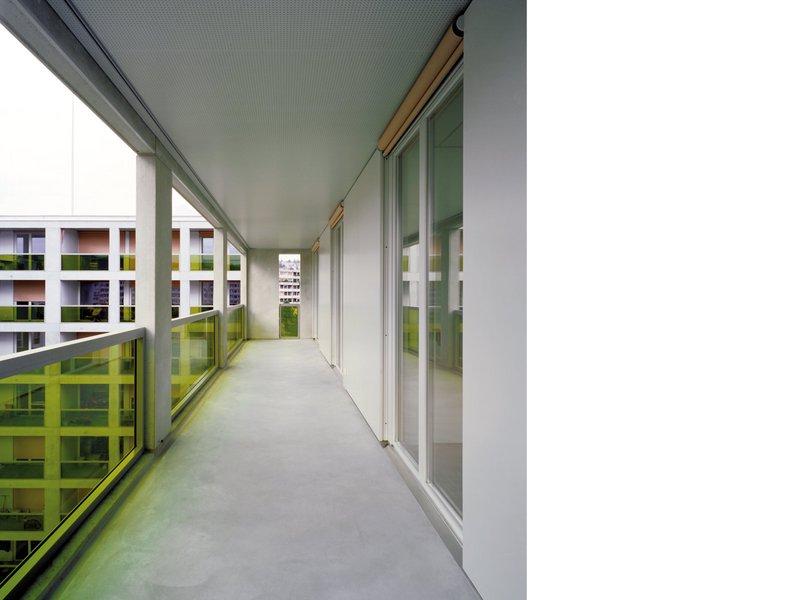 Adrian Streich: Wohnsiedlung Werdwies - best architects 08 gold