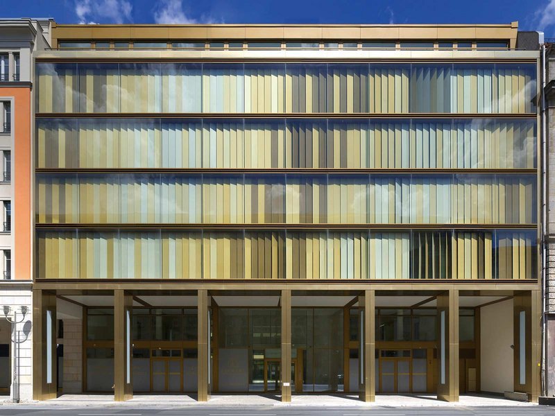 Grüntuch Ernst: Bürogebäude Leipziger Straße - best architects 09