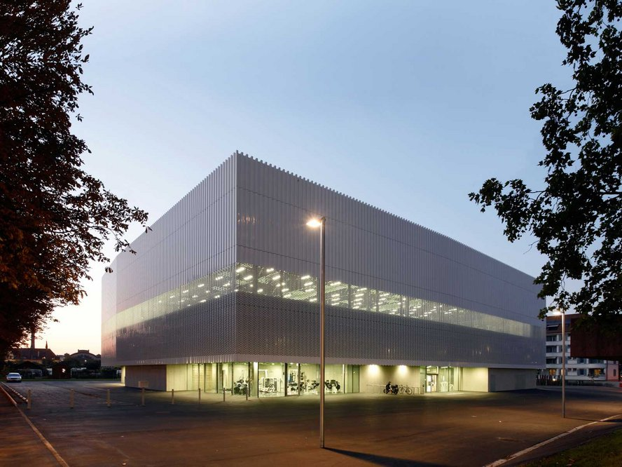 Sporthalle Hardau, weberbrunner architekten