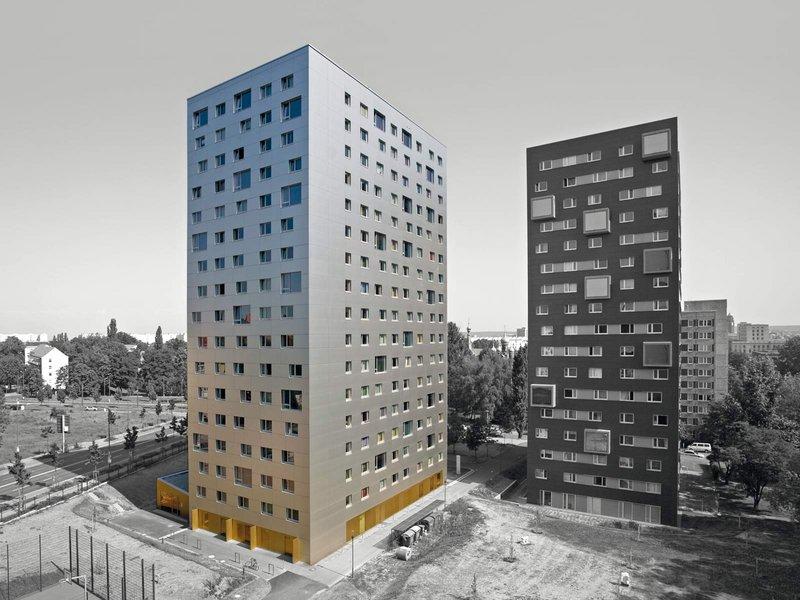 knerer und lang architekten: GOLD_SILBER Sanierung Studentenwohnheim Hochschulstraße - best architects 10