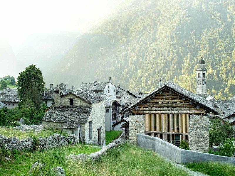 Ruinelli Associati Architetti: Umnutzung eines Stalles/Scheune in Soglio - best architects 12 gold