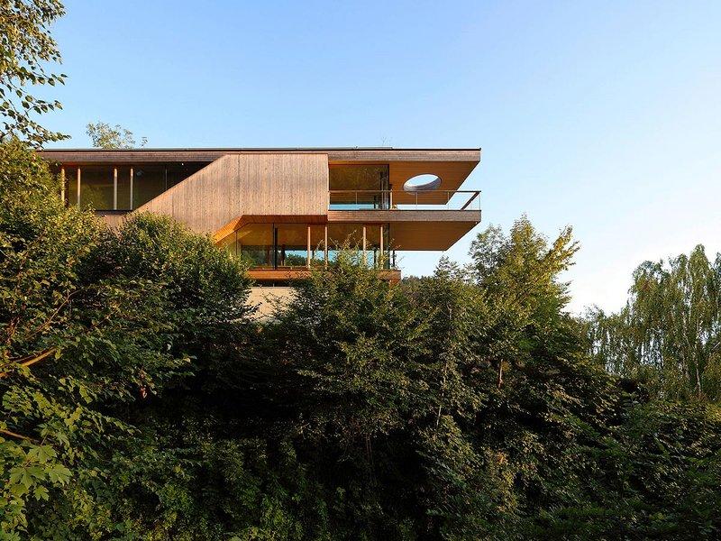 Mag. Arch. Elmar Ludescher Architektur: Haus auf dem Felsrücken - best architects 12