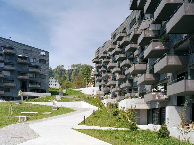 pool Architekten: Wohnsiedlung Leimbachstrasse, Zürich-Leimbach - best architects 12