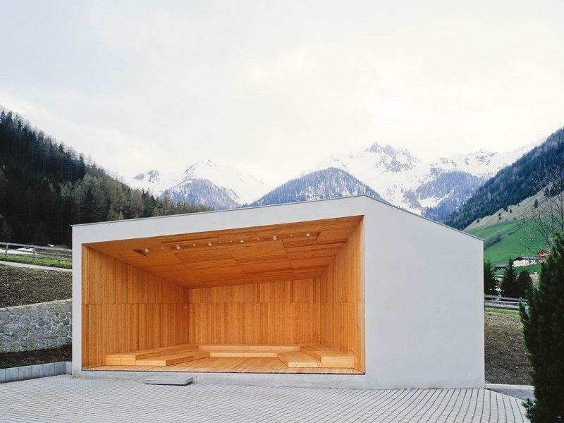 Stifter + Bachmann: Freilichtbühne in Weissenbach - best architects 12