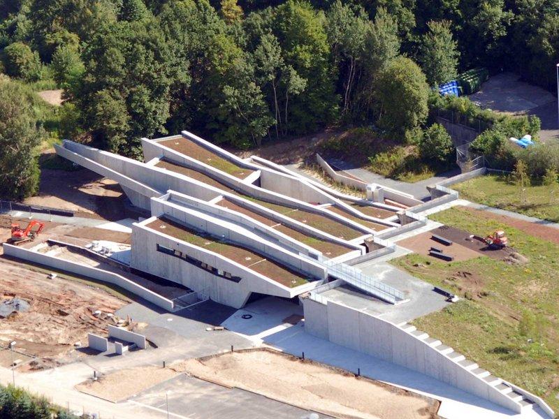 Landau Kindelbacher Architekten Innenarchitekten: Besucher- und Informationszentrum UNESCO Weltnaturerbe Grube Messel - best architects 12