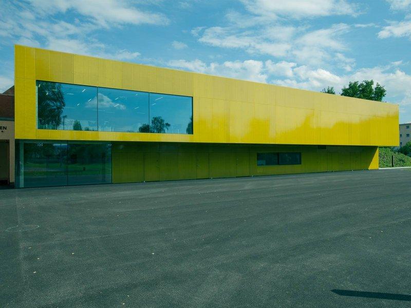L3P Architekten: Erweiterungsbau und Umbau, Mehrzweck zweifach Sporthalle Eichi Niederglatt - best architects 12