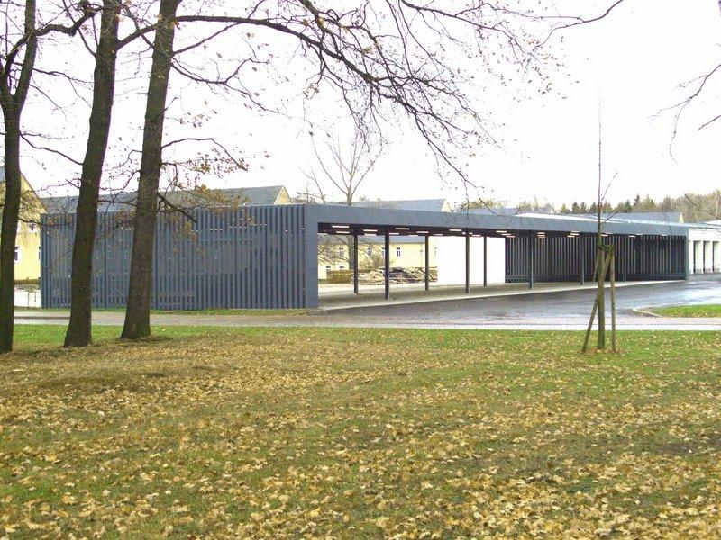 Knoche Architekten + Neumann Architekten : Carport für Einsatzfahrzeuge, Bereitschaftspolizei Chemnitz - best architects 12