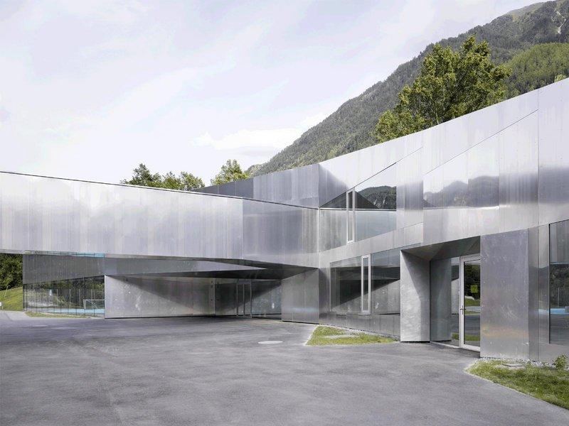 Bonnard Wœffray architectes: BOV | Grundschule Bovernier, Schweiz - best architects 12 gold