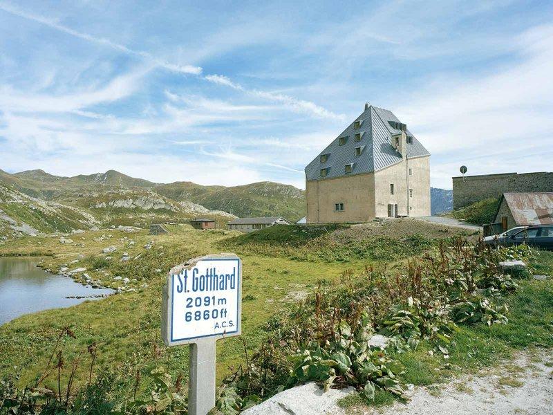 Miller & Maranta: Altes Hospiz St. Gotthard - best architects 12