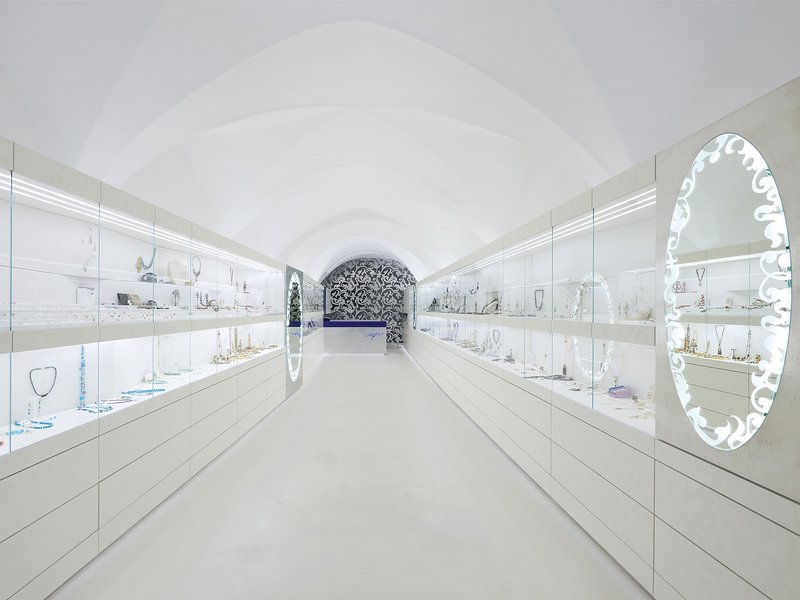 Pedevilla Architekten: Einrichtung Schmuckgeschäft - best architects 13
