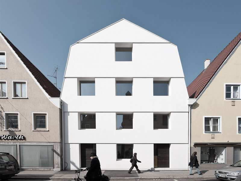 SoHo Architektur: Haus KE 12 - best architects 13 in Gold