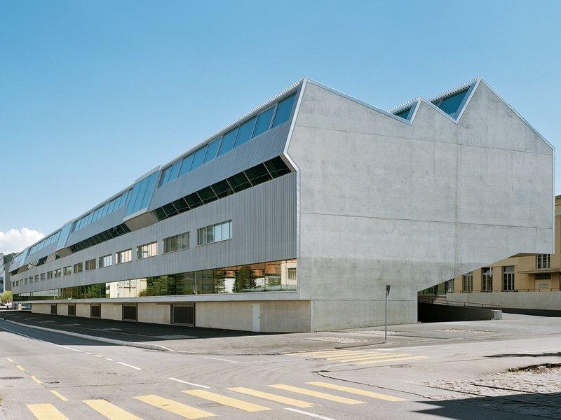 Graber Pulver Architekten ag: Ecole des Métiers, Fribourg - best architects 13 in Gold