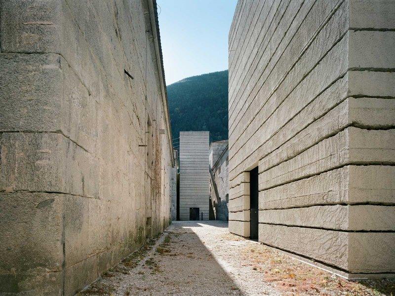 Markus Scherer Architekt: Wiedergewinnung der Festung Franzensfeste - best architects 13 in Gold