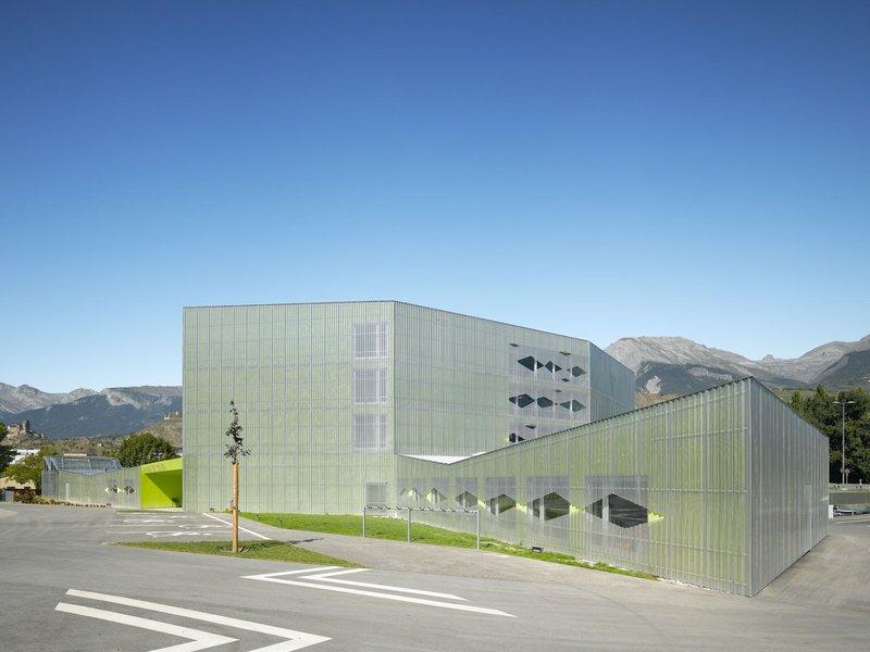 Bonnard & Wœffray architectes: Foyer für hirnverletzte Menschen, Sion - best architects 13