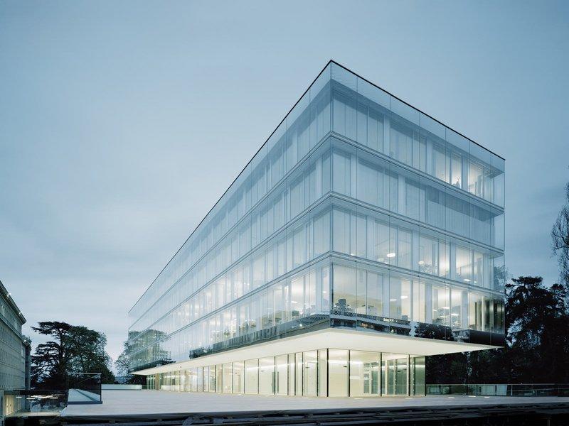 wittfoht architekten: Welthandelsorganisation, WTO, Erweiterungsbau Hauptverwaltung - best architects 14