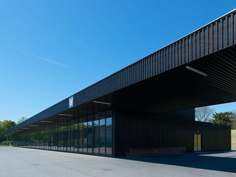 Riepl Kaufmann Bammer Architektur: Wirtschaftsgebäude Zentralfriedhof - best architects 14