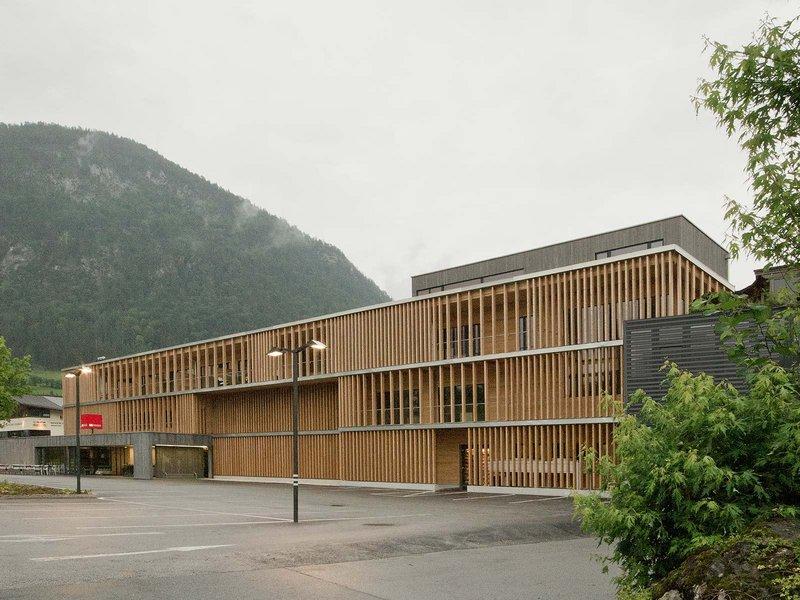 LP architektur: Holzbau Meiberger/M-Preis - best architects 14