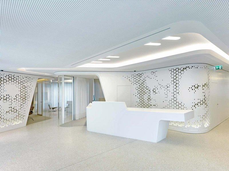 NAU Architecture & Drexler Guinand Jauslin: Open Lounge: Raiffeisenbank Kreuzplatz Zürich - best architects 14