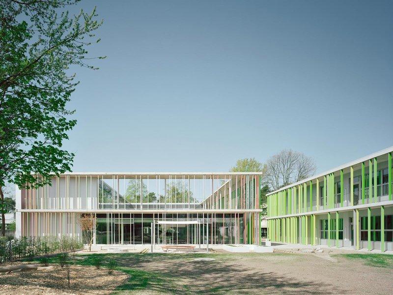 wulf architekten: Evangelische Grundschule mit Sporthalle - best architects 14