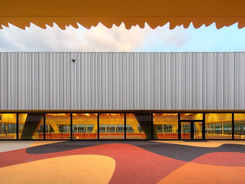 Büro Konstrukt: Neubau Primarschule und Dreifachturnhalle  - best architects 14