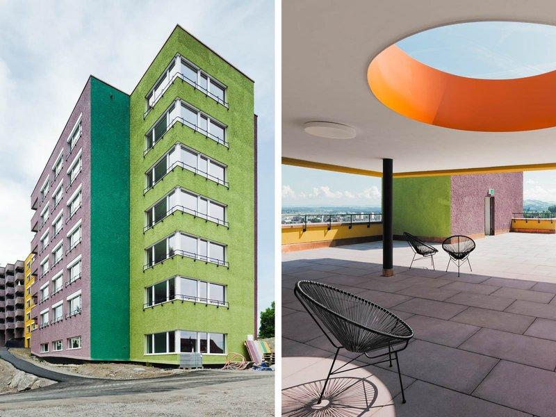 Büro Konstrukt: Erweiterung und Sanierung Betagtenzentrum Staffelnhof - best architects 14