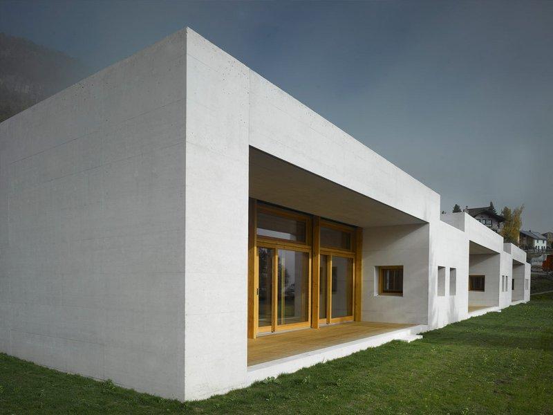 Gredig Walser Architekten: Erweiterung Schulanlage mit Dreifachkindergarten in Samedan  - best architects 14