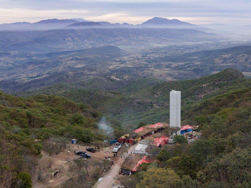 Christ & Gantenbein: Pilgersäule, Ruta del Peregrino, Mexiko - best architects 14