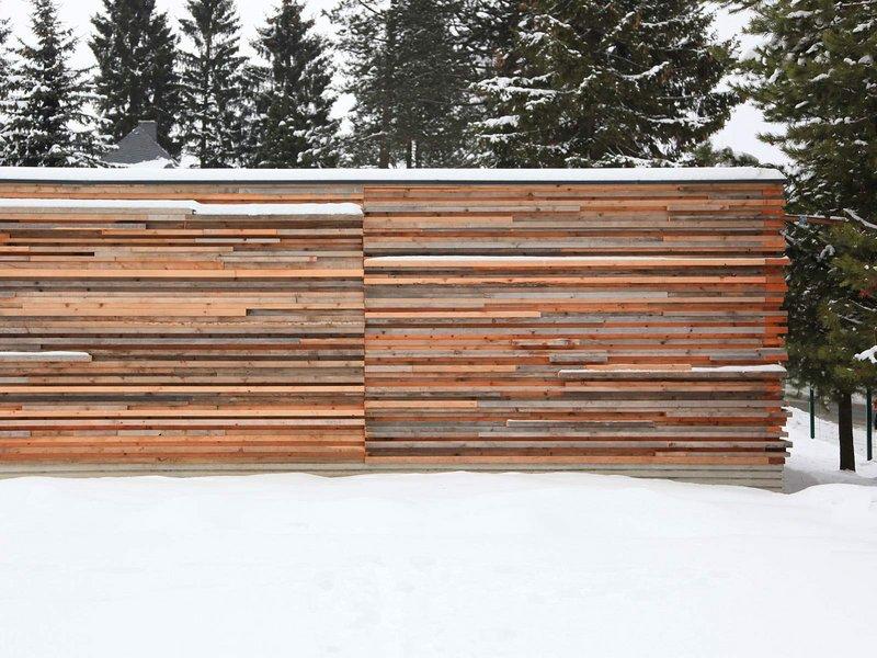 Reichel Schlaier Architekten : Garage in Holzstapelbauweise - best architects 14