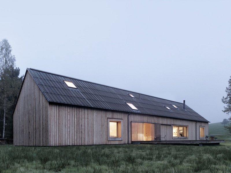 Architekt Bernardo Bader: Haus am Moor - best architects 14