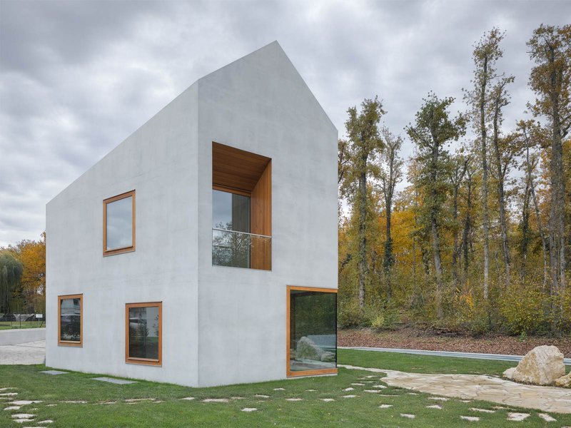 clavienrossier architectes: Villa 2 in 1 - best architects 14