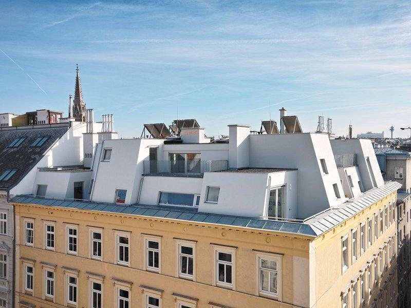 PPAG architects: Dorf auf dem Dach, Dachbodenausbau, Wien - best architects 14