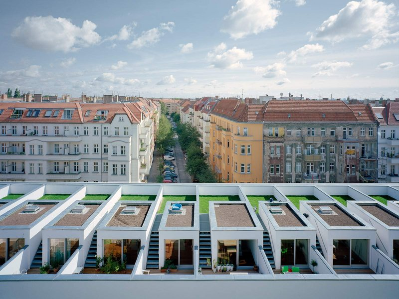 zanderrotharchitekten: BIGyard – Baugruppenprojekt Zelterstraße 5 - best architects 14