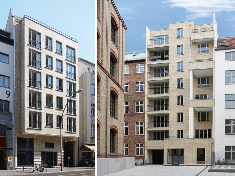 Modersohn & Freiesleben Architekten: Wohn- und Geschäftshaus Chausseestraße - best architects 14