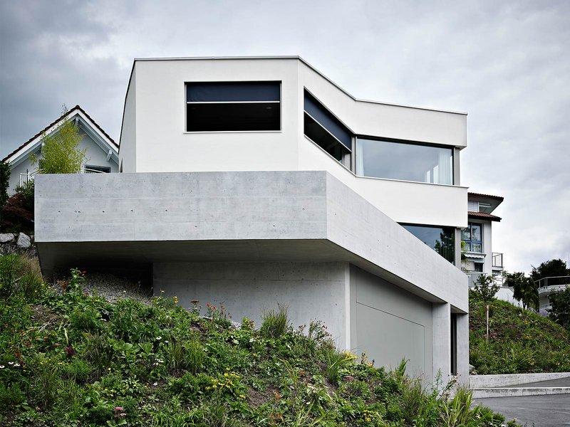 idA buehrer wuest architekten: Neubau Einfamilienhaus Oberlunkhofen - best architects 15