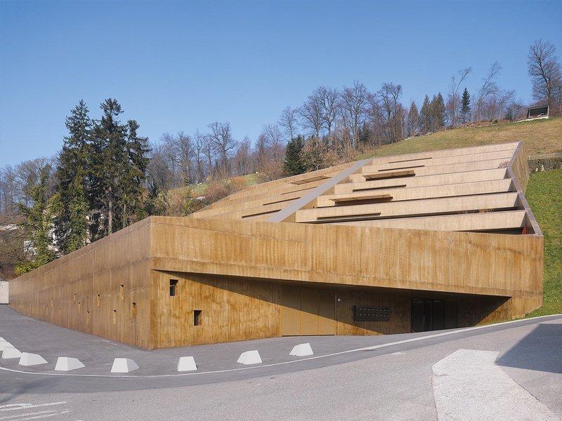 Ken Architekten: Bruggerberg - best architects 15 in Gold