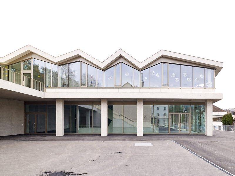 Baumberger & Stegmeier: Primarschulzentrum Laufen - best architects 15 in Gold