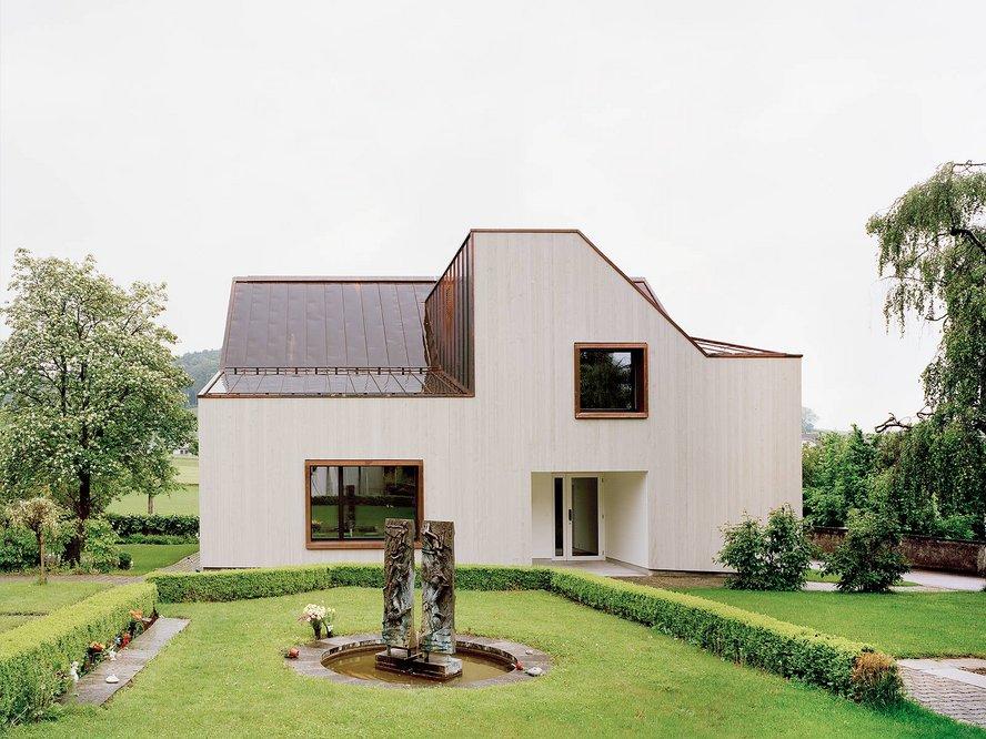 Neubau Kirchgemeindehaus Würenlos Menzi Bürgler Architekten