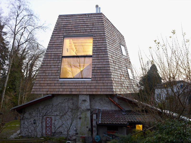 sas specific architectural solutions: Bigroof house - best architects 16