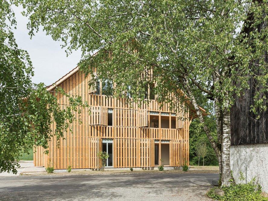 Mehrfamilienhaus Im Amt, weberbrunner architekten