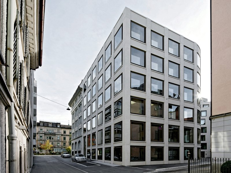 jessenvollenweider: Administrative Centre on Oberer Graben / St.Gallen - best architects 16