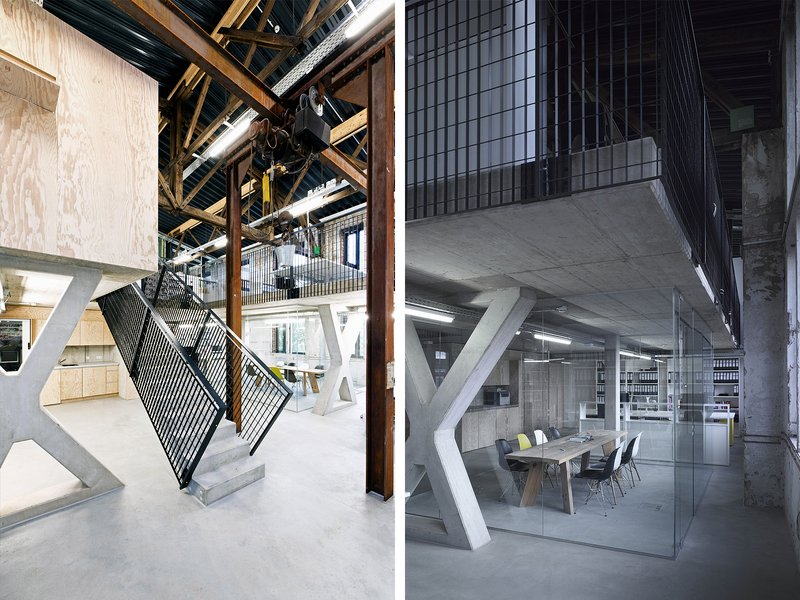 Liebel/Architekten: Conversion of a locomotive shed into commercial and office units - best architects 16