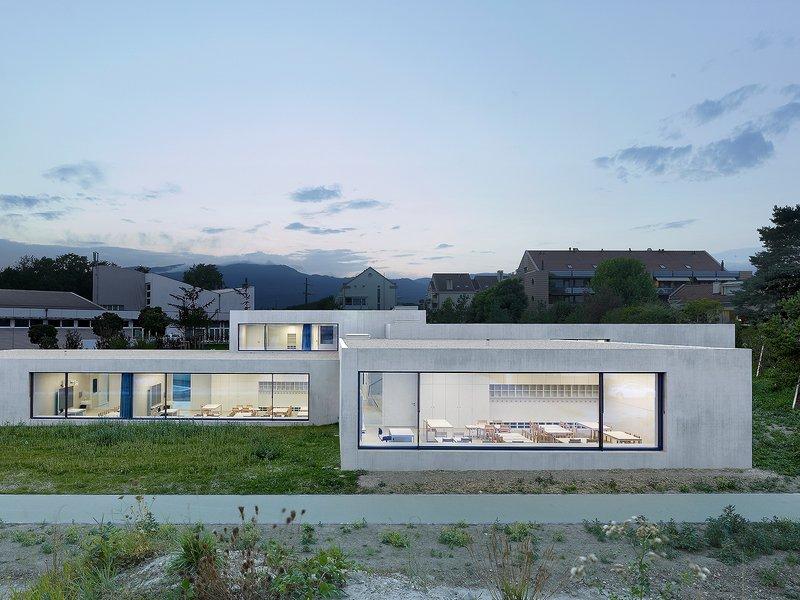 Pierre-Alain Dupraz Architecte: Kindergarten und Krippe - best architects 17