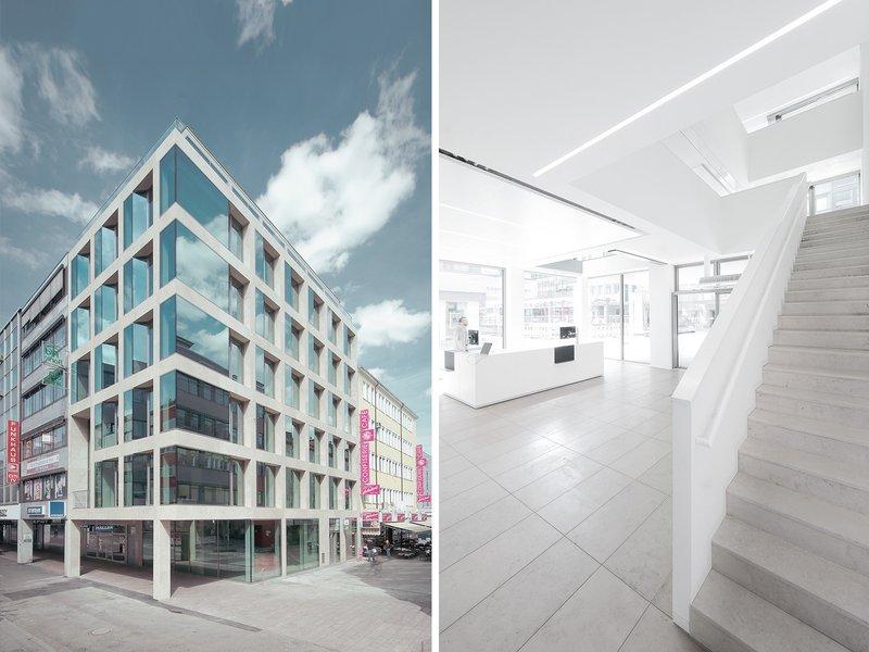 BAYER & STROBEL ARCHITEKTEN: PSD Bank RheinNeckarSaar eG / new Saarbrücken branch office - best architects 17