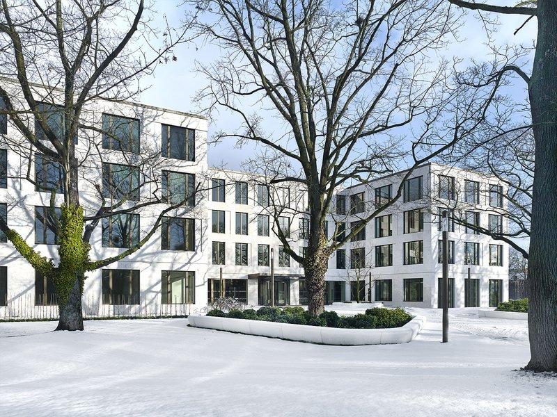 Kleihues + Kleihues  platena+jagusch.architekten: Büro- und Verwaltungsgebäude Pappelallee - best architects 17