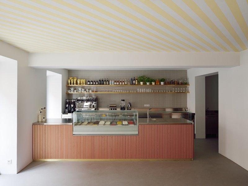 Arnold / Werner: Ice cream parlour / Schellingstraße - best architects 17