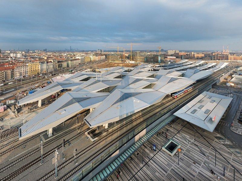 Theo Hotz Partner Architekten: Hauptbahnhof Wien - best architects 17