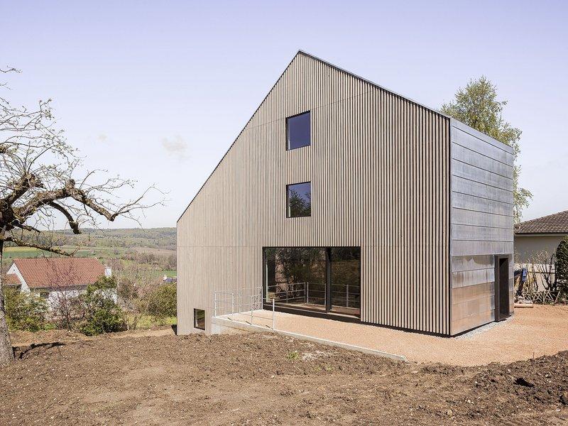 Berrel Berrel Kräutler: Einfamilienhaus in Rodersdorf - best architects 17