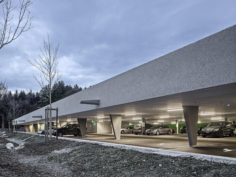 Schneider & Schneider Architekten: Parkierungsanlage Kantonsspital Frauenfeld - best architects 17